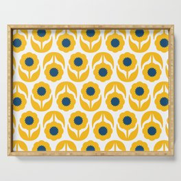 Joy collection- Yellow flowers Serving Tray
