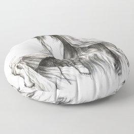 The Bride Floor Pillow