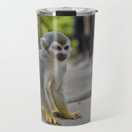 Mono Titi Amazonas Travel Mug