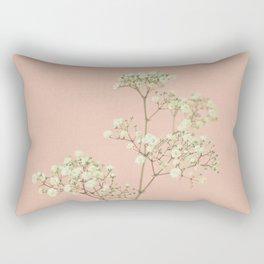 Baby's Breath Rectangular Pillow