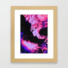 LOVE AND JEALOUSY Framed Art Print