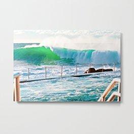 Bronte Beach Ocean Pool. Sydney. Australia. Metal Print