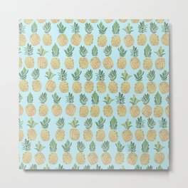 The Pineapple Show Metal Print