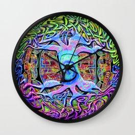 Reactive Wall Clock