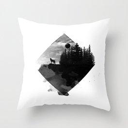 Landscape - Wild Forest Throw Pillow