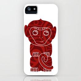Tiki Monkey iPhone Case