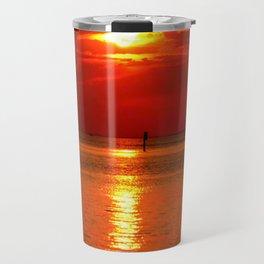 Sunset at Lake Constance Travel Mug