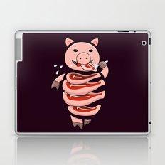 Gluttonous Cannibal Pig Laptop & iPad Skin