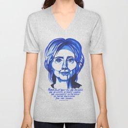 Hillary Rodham Clinton Unisex V-Neck