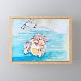 Winter Joy Framed Mini Art Print