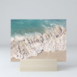 Breaking Shore Mini Art Print