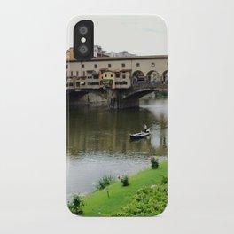 ponte vecchio, florence, italy iPhone Case