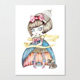 Carnivale Blythe Canvas Print