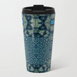 Collaged New Mandala Pattern 16 Travel Mug