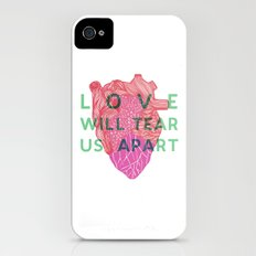 Love will tear us apart iPhone (4, 4s) Slim Case