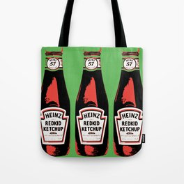 Everyone's favorite ketchup art print Tote Bag