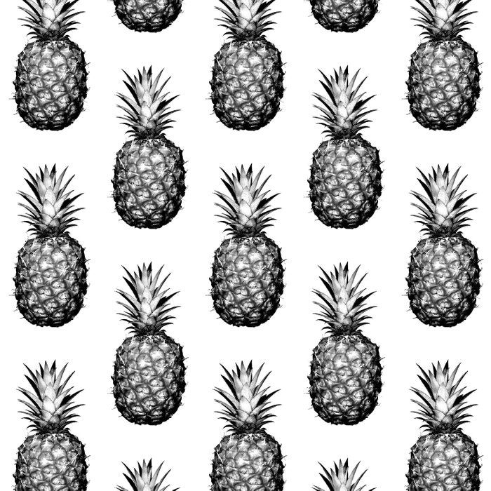 black white pineapple comforters by cumulusfactory society6. Black Bedroom Furniture Sets. Home Design Ideas