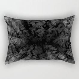 Abstract Radial Gradation Rectangular Pillow