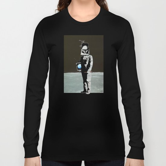 TV Space Invader Long Sleeve T-shirt
