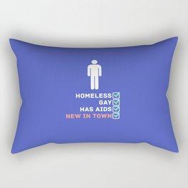 New In Town Rectangular Pillow