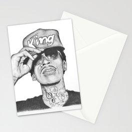 Wiz khalifa fan art Stationery Cards