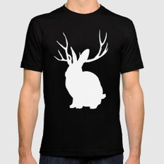 The Rabbit Mens Fitted Tee MEDIUM Black