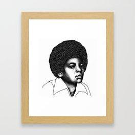 Little King Framed Art Print