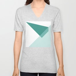 Triangles No6 Unisex V-Neck