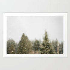 Must Love Snow Art Print