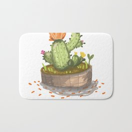 Bloom where you are planted. Bath Mat