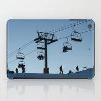 ski iPad Cases featuring ski by Sébastien BOUVIER