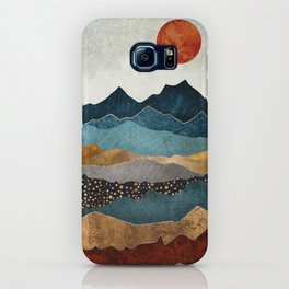 Amber Dusk iPhone Case