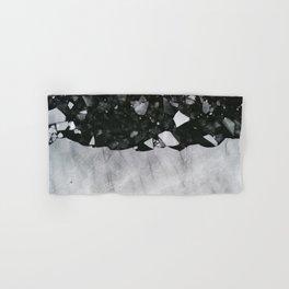 Winters Edge - Aerial Photography Hand & Bath Towel
