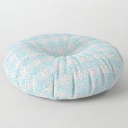 Light Grey Buffalo Plaid Floor Pillow