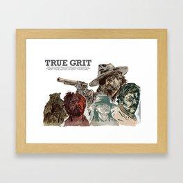 True Grit Framed Art Print