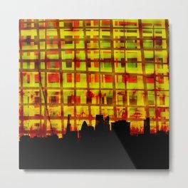 City Fibres Dream Series 002 Metal Print
