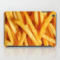 fries iPad Cases featuring Fries by Maioriz Home