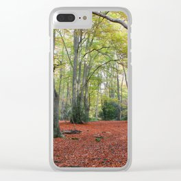 Walking Through Epping Forest Clear iPhone Case