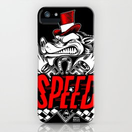 The Speed Metal iPhone Case