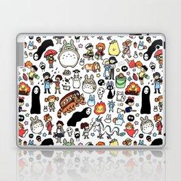 Kawaii Ghibli Doodle Laptop & iPad Skin