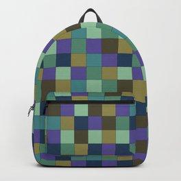 Blu Grid Backpack