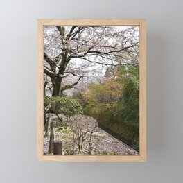 The Philosopher's Path Framed Mini Art Print