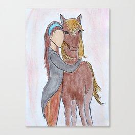Horse Lover Canvas Print