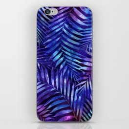 Violet jungle vibes iPhone Skin
