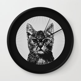 """The Year of the Cat"" Wall Clock"