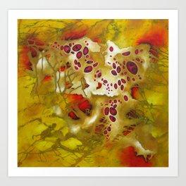 Biomorphic Relations Art Print