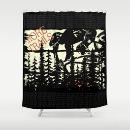 More Trails Shower Curtain