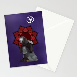 Rest my Buddah Stationery Cards