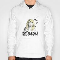 birdman Hoodies featuring Birdman by Luis Vicente C M