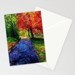 Autumn Breeze Stationery Cards